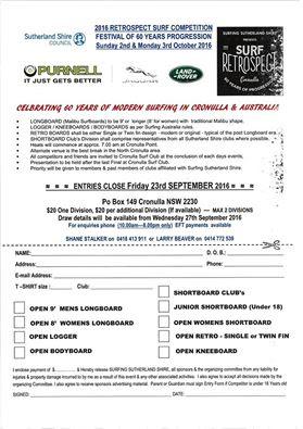 Cronulla Beach surf tournament